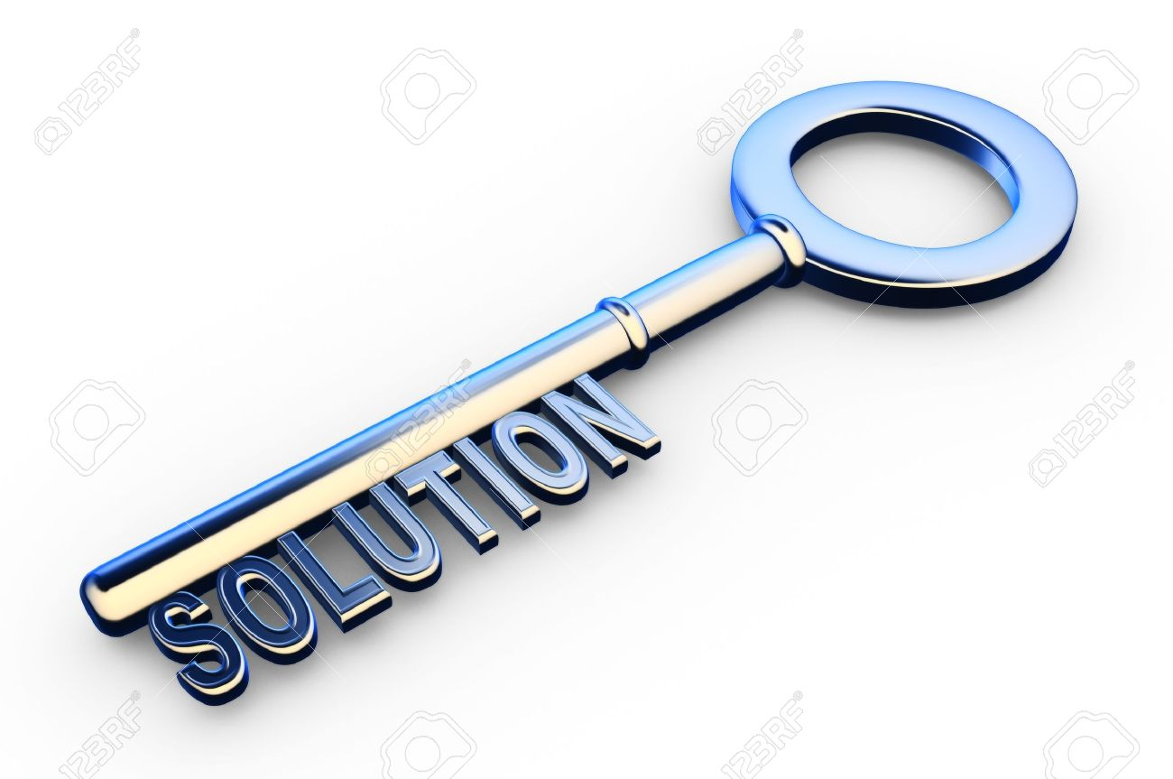 15297980-3d-solutions-key-key-with-Solutions-text-as-symbol-for-success-in-business-Conceptual-image-Stock-Photo
